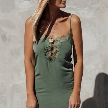 Love Lace Slip Dress