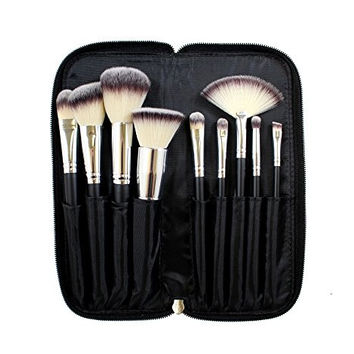 Morphe Brushes 9 Piece Deluxe Vegan MakeUp Brush Set (Set 502)