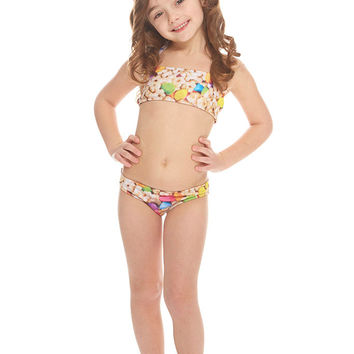Kids Good Luck Bandeau Bikini