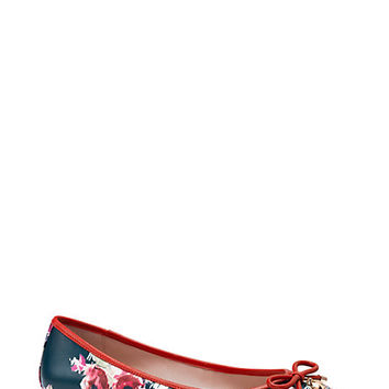 Kate Spade Willa Flat Blurry Floral