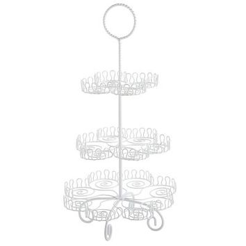 Wire 3 Tier Cupcake Stand
