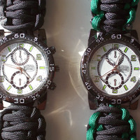 Sports Survival Paracord Watch Custom Made
