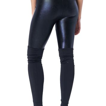 Metallic Shiny Leggings