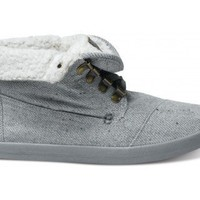 Botas - Highlands Grey Wool Fleck Fleece Women's Botas | TOMS.com