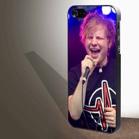 "ed sheeran sing concert  for iphone 4/4s/5/5s/5c/6/6+, Samsung S3/S4/S5/S6, iPad 2/3/4/Air/Mini, iPod 4/5, Samsung Note 3/4 Case ""005"""