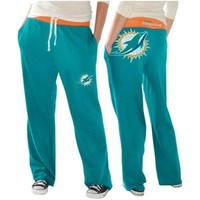 Miami Dolphins Ladies Recruit Fleece Pants – Aqua