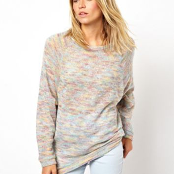 ASOS Sweater in Multi Colored Yarn - Multi
