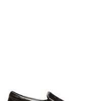 Jimmy Choo Navy And Black Suede Grove Slip-on Shoes