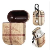 Burberry iPhone Airpods Headphone Case Wireless Bluetooth Headphone Protecto