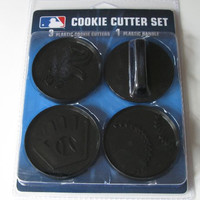 MLB Chicago White Sox Officially Licensed Set of Cookie Cutters