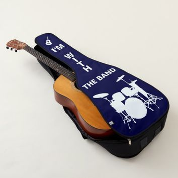 I'm with the band funny customizable guitar case