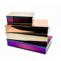 Buy Lund London Luxe Box with Lid - Oil Slick | Amara
