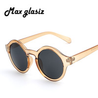 Vintage Round Sunglasses Women Brand Designer Eyewear Men Fashion Sunglasses Retro Female Lady Cute Oculos De Sol UV400