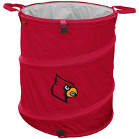 Louisville Cardinals NCAA Collapsible Trash Can