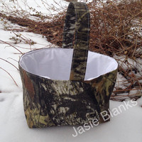 Natural Camo Basket FREE PERSONALIZATION Boys Easter Basket Girls Easter Basket Easter Egg Hunt Easter Photo Prop