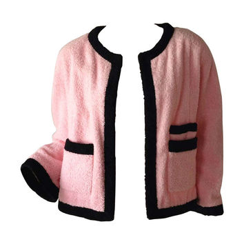 Chanel Terry Cloth Jacket 1980s