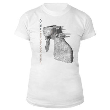 Coldplay Official Store | A Rush Of Blood To The Head Album Cover Women's Tee