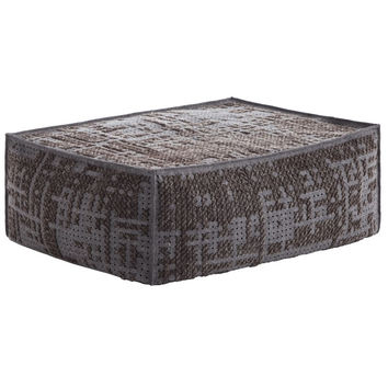 Canevas Spaces Soft Abstract Pouf
