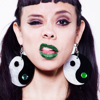 Yin Yang Twinz Earrings