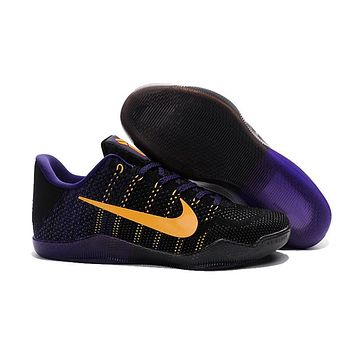 Nike Kobe Xi Elite Black/purple Basketball Trainers Size Us7-12 - Beauty Ticks
