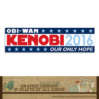 Vote Vader 2016... Impressive, Most Impressive - Bumper Sticker - Election Humor - Star Wars