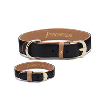 The Classic Pup : Jet Black Friendship Collar - USE FC15 FOR 15% OFF