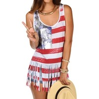 Stars And Stripes Fringe