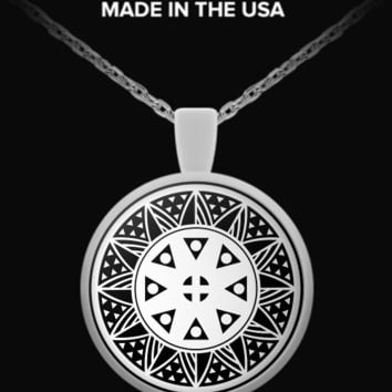 Berehynia - Round Pendant Necklace