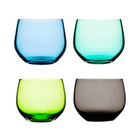 Sea Glass Inspired Tumblers - Set of 4