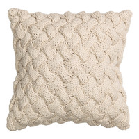 H&M Cable-knit Cushion Cover $19.99