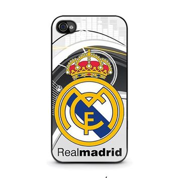REAL MADRID FC iPhone 4 / 4S Case Cover