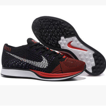 """NIKE"" Trending Fashion Casual Sports Shoes Red toe cap"