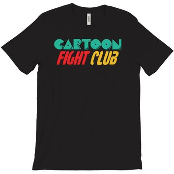 cartoon fight club T-Shirt