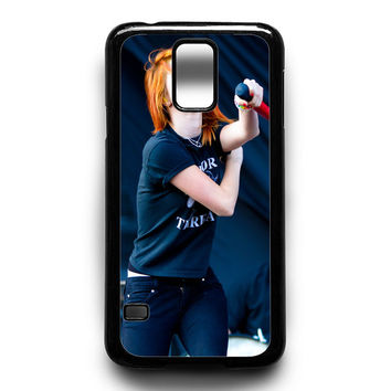 Hayley Williams Paramore Celebrity Music Samsung Galaxy S5 Case
