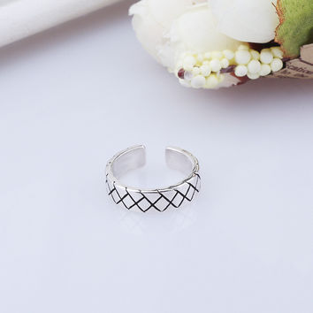 New Arrival Stylish Gift Jewelry Shiny 925 Silver Korean Accessory Ring [7652915207]