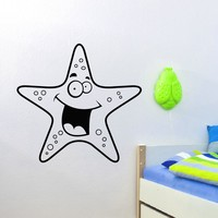 Wall Decal Vinyl Sticker Animal Starfish Baby Room Nursery Sb449