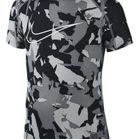 Boy's Nike 'Cool AOP' Compression T-Shirt,