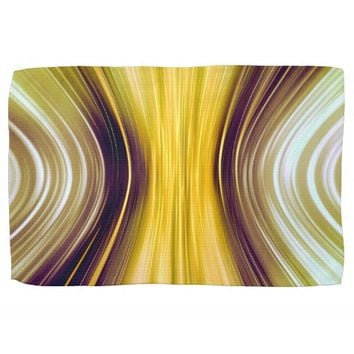 Sea Shell Yellow Driving Dreams Kitchen Towel