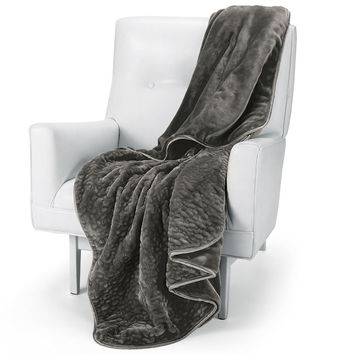 Nap™ Quilted Throw Blanket at Brookstone—Buy Now!