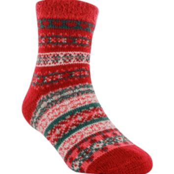 Yaktrax Youth Cozy Cabin Nortic Crew Sock   DICK'S Sporting Goods