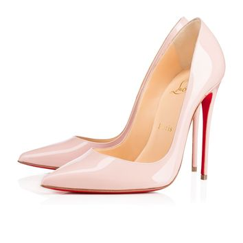 CHRISTIAN LOUBOUTIN So Kate Patent Pink