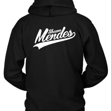 ESBH9S Shawn Mendes Logo Title Hoodie Two Sided