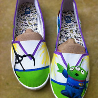 Toy Story's Little Green Alien Shoes