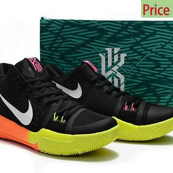 Spring Summer 2018 Really Cheap Kyrie Irving Shoes 3 2017 Unlimited Black Pink Blast Volt Total Orange sneaker