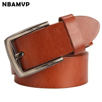 mens belt High-quality male genuine leather strap designer ceinture homme luxe marque a wide belts cinto masculino YS110
