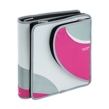 Five Star Zipper Binder 8 12 X 11 1 Rings Orted Colors By Office Depot