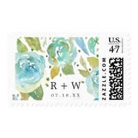 Delicate Love Personalized Postage Stamps