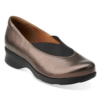Clarks Bronze Aubria Fay Leather Slip-On Shoe | zulily