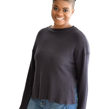 Softest Thermal Navy Top