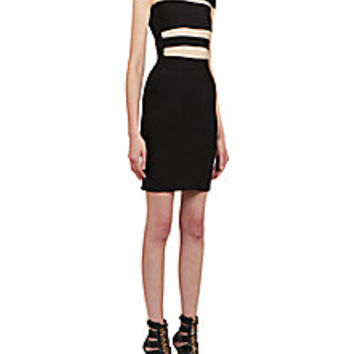 Balmain - Strappy Bandage Dress - Saks Fifth Avenue Mobile